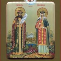 Святой благоверный князь Петр и и благоверная княгиня Феврония Муромские