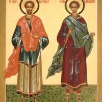 Бессребреники и чудотворцы Косма и Дамиан Азийские