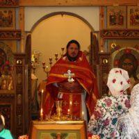 Божественная Литургия в день памяти мучеников Евстратия, Авксентия, Евгения, Мардария и Ореста